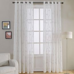 Window Sheer Curtains Panel, Naples